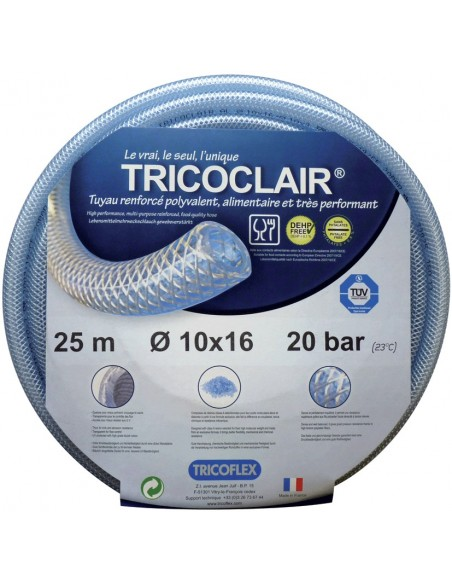 Tuyau Tricoclair industrie