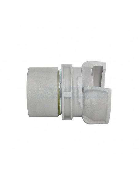 Demi-raccord symétrique à verrou - Aluminium - Douille filetée femelle
