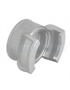 Demi-raccord symétrique sans verrou - Aluminium - Douille filetée femelle