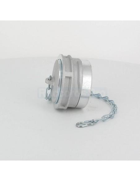 Bouchon à verrou pour raccord symétrique - Aluminium