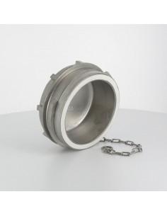 Bouchon sans verrou pour raccord symétrique - Inox