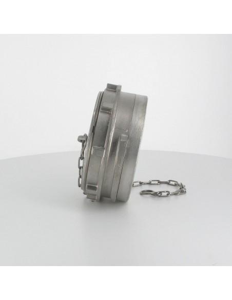 Bouchon à verrou pour raccord symétrique - Inox