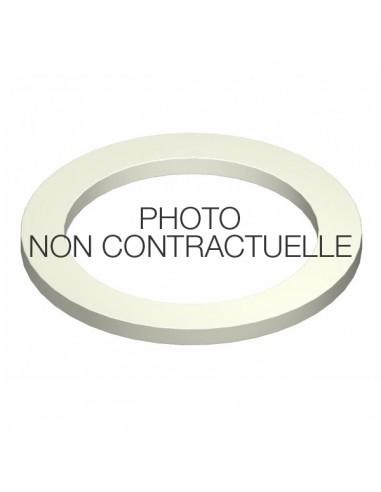 "Joint plat 1""1/2 EPDM blanc pour raccord rapide"