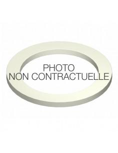 Joint plat - NBR Blanc - pour raccord symétrique PP