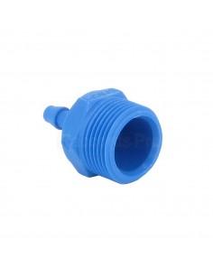 "Straight hose coupler Ø 4 mm - M 1/4"" BSP"