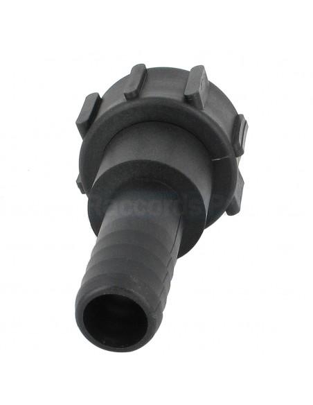 """Raccord cannelé droit - écrou - Ø 32 mm - F 2"""" NPS"""