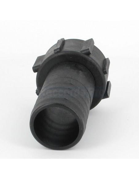 """Raccord cannelé droit - écrou - Ø 50mm - F 2"""" NPS"""